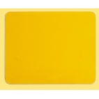 Side Pod Number Sticker Yellow
